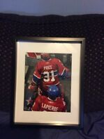 Montreal Canadiens Price & Lapierre signed and framed photo
