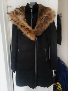 Women's Mackage Black Adali Classic Down Jacket