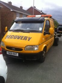 Transit recovery 5 seater crew cab 113k