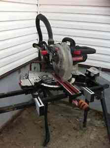 Sliding chop saw with folding stand 200 obo