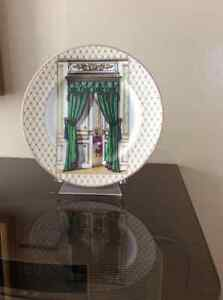 FITZ AND FLOYD DECORATOR'S PLATE