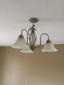 Light fixtures, cabinet and appliances