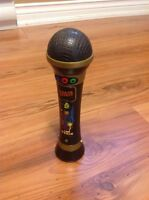 Microphone with playback