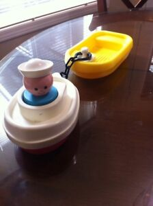 Fisher Price Toy Tug a Boat- Excellent Condition