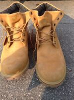 Men's Timberland boots suede leather size 13