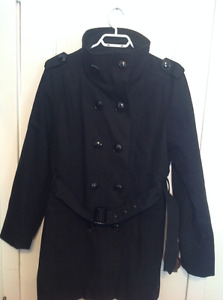Ladies Louie Louie classy double breasted dress coat