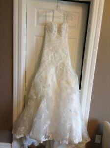 Ivory Maggie Sottero Haute Couture wedding dress