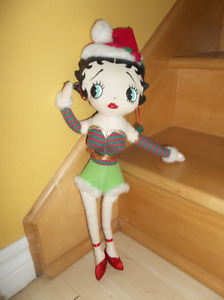 Poupée vintage  en tissu, Betty Boop