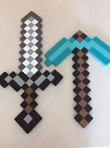 Mine craft Sword & Pickaxe