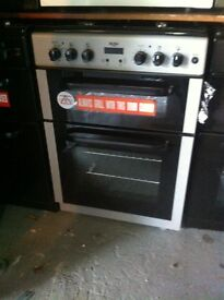 NEW EX-DISPLAY BLACK BUSH COOKER FREESTANDING COOKER COMES WITH A FULLY WORKING STORE WARRANTY