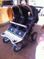 sold ppu- Valco runabout tri-mode twin double stroller