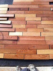 Unused hardwood