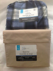Brand new twin size sheets set for 50% off