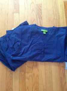 Brand new,2pairs  Crocs medical uniform- Navy- London Ontario image 1