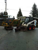 Stump removal ,drain tile,trenching