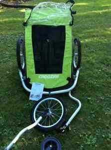 Croozer 2 seat bike trailer