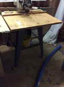 """Commercial Grade 10"""" Radial Arm Saw and Stand Sarnia Sarnia Area image 2"""