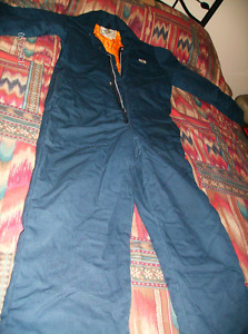 Small Women's quilted Coveralls