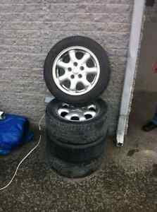 4 Summer Tires with Mags *Nego