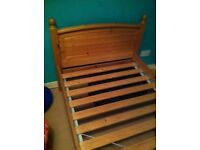 IKEA pine slatted bed base