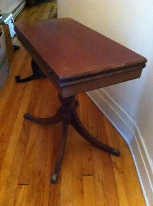 Antique Card Table or Side Table