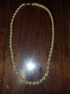 Thick gold rope chain very nice