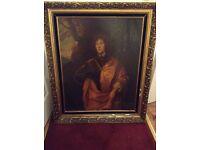 Anthony van dyck vintage oil painting must see!!! 07541333597