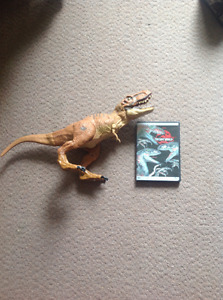 Electronic Jurassic World T-Rex & Collector's Edition DVD