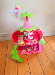Maison de fraisinette, maison de little poney et polly pocket
