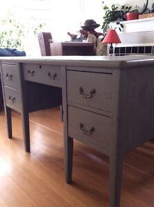 """Desk ~ """"cottage chic/distressed"""" look"""