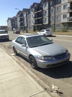 2002 Honda Accord FULLY LOADED VERY RELIABLE GREAT ON GAS