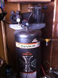 Devilbiss 5hp 60 gallon compressor sell/trade