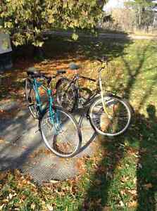 Vintage Raleigh Portage and Raleigh Sprite