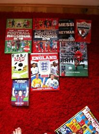 9 football books £20