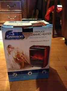Garrison ceramic heater