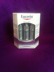3x Eucerin Hyaluron-Filler Concentrate RRP £30 each
