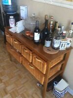 Tv stand and buffet not ikea.