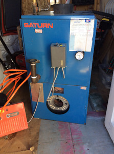 Kerr Saturn Hot Water Oil-Fired Burner (Furnace)