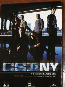 CSI New York...saison # 1 en DVD