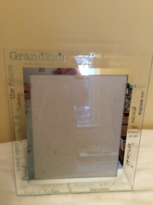 Grandmothers picture frame of grandchildren
