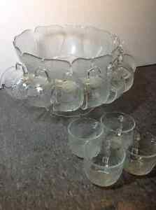 Vintage Arcoroc punch bowl - made in France Cambridge Kitchener Area image 1