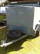 Enclosed Solid Steel Canopy Camping Trailer 6x4 Ballarat Region Preview