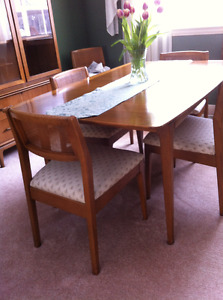 Vintage mid-century modern dining set - perfect condition