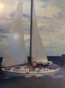 Voilier SLOOP ''double-ender'' 30 pieds