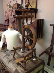 Antique Spinning Wheel for Sale    Peace River