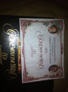 Gone With the Wind 50th anniversary edition 2 VHS set London Ontario image 3