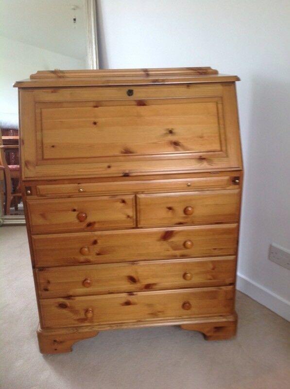 Ducal 5 drawer bureau.