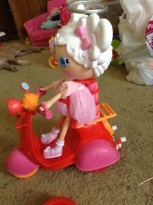 Lalaloopsy doll and remote control scooter
