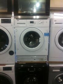 ***NEW-NEW***Integrated washing machines BEKO 7kg-£169.99 8kg-£189.99 warranty included