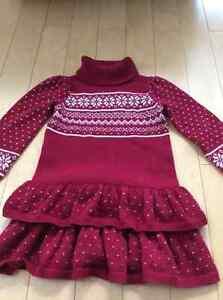 Gymboree Fair Isle knit dress size 4